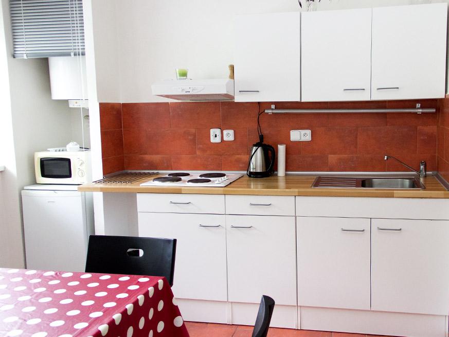 Červený apartmán Stříbrnice